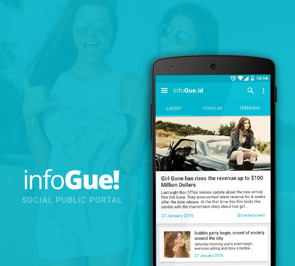 Infogue Mobile